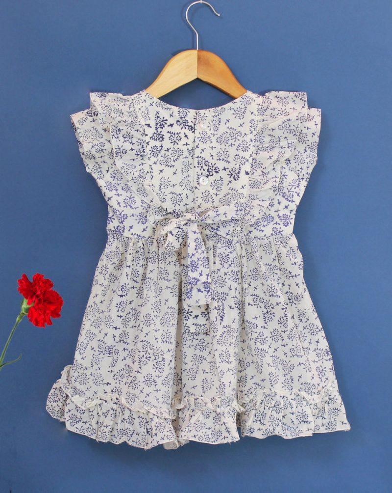 GDR20 Tiny Floral dress back 02